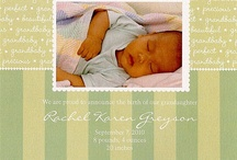 Everything for Baby / From Birth Announcements to Birthday Parties ~ Everything we ♥ for Baby