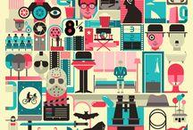 Illustrations vectorielles / by Bruno Lombardo