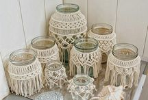 Wedding macrame