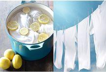 Remedios caseros para blanquear la ropa
