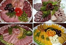Party Platters and Salad