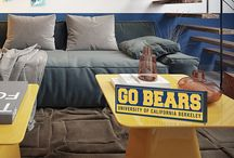 """COLLEGE wood signs / These are 1"""" thick and come in 2 sizes.  GREAT for students or alumni."""