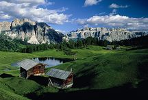 Mountains we love / Awesome mountains! #mountains #italy #dolomiti