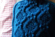 Knitted Hot Water Bottle Cover / Hot Water Bottle Cover