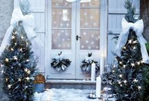 let it snow / christmas, season decorations, atmosphere