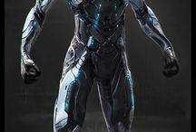 Shi-fi body-arms