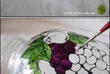 pitture su vetro