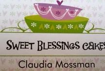 Sweet Blessings Cakes / Beautiful, homemade, hand decorated confections using only organic ingredients that appeal to those with food allergies and sensitivities.