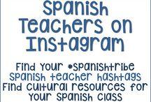 Spanish Teacher Social Media