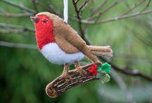 uccellini e altro pannolenci