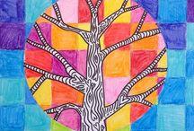 életfa festése