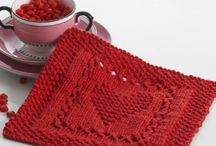 håndarbeid - strikke/kluter