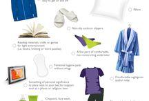Post-Op Necessities & Niceties / Tips & products to help you heal in comfort & style.