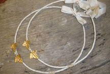 ΣΤΕΦΑΝΑ ΓΑΜΟΥ ΧΕΙΡΟΠΟΙΗΤΑ 24 ΚΑΡΑΤΙΑ ΑΠΟ ΧΡΥΣΟ / Υπέροχα μοντέρνα στέφανα γάμου από χρυσό 24 καράτια.