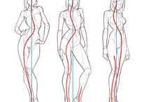 Draws | human figure / Human figure draws, tutoriais.