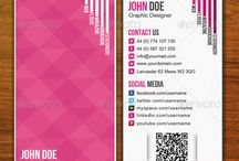 business cards and branding / by Joanne Boyko