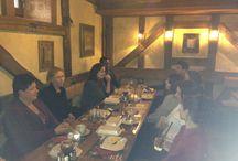 2015, Évindító ebéd / Immár hagyomány, hogy a nyelviskola teljes munkatársi gárádája évnyitó ebéden vesz részt.