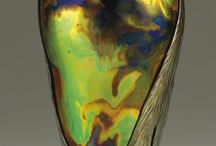 Amazing Vases from 1890s-1920s / Art Nouveau, Jugendstil, Secessionist and Symbolist movements, Amphora, Wiener Werkstätte, etc... Some of the most rare and exquisite vases ever created were from this era. Some of the methods used to create the glazes and finishes have been lost with the artists and studios that mastered the techniques.