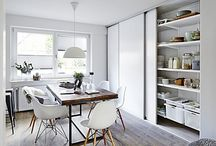 Kitchen / Elfa is offering flexible interior products and made to measure sliding doors.
