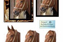 3D heste