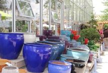 Pottery @ Garden Centers / Pottery ideas at retail from independent garden centers.