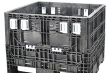 """30 x 32 Bulk Containers / 30 x 32 bulk containers are ideal for handling, storing, and moving a variety of dense small-to-medium sized parts. Available in 25-34"""" heights, these containers were originally designed by the automotive industry to fit three wide in a trailer, are reusable, and can handle heavy duty loads. http://www.rppcontainers.com/c/30-32-bulk-containers.html"""