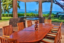 Featured Property- Banyan Cove / This gorgeous oceanfront vacation rental is located on the beautiful North Shore of Maui. Banyan Cove has an extremely private and tranquil atmosphere that guarantees relaxation and decompression in paradise. This stunning villa offers three master bedrooms with en-suite baths joined by an interior bridge, three half baths, and a great room that joins the living room, dining room, and gourmet kitchen. Contact us today at (877) 530-9672 or reservations@exoticestates.com! http://bit.ly/BanyonCove