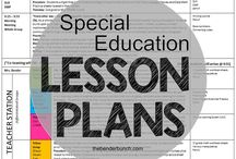 Sped Lesson Planning