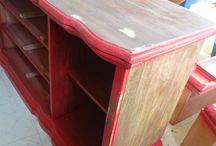 Refinishing Furniture / Refinishing furniture.