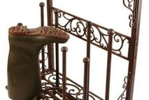 Entrance iron decor