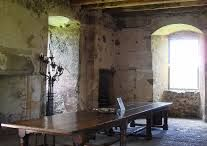 castle and tower house interiors