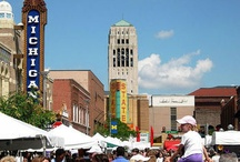 Ann Arbor / The city of Ann Arbor is a wonderful partner in making the U-M experience so special. Beyond campus, Ann Arbor has world-class research facilities and businesses, along with fabulous restaurants, outdoor space, museums, and nightlife.  / by U-M School of Nursing