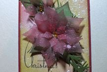 Cards: Christmas / These are not my pins.  They are beautiful cards and projects created by  talented card artists.  They are here to inspire me.