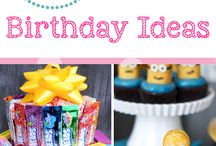 bday/party ideas