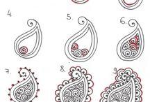 Henna,Motivumok,Mandalák