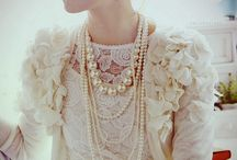 """Pearls, please... / """"Next to sound judgement, diamonds and pearls are the rarest things in the world.""""  Jean de la Bruyere / by Debbie Sorrells- Dixon"""