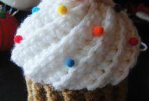 Crochet food and stuff