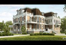 Визуализация загородной недвижимости