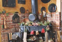 Old stoves & cast iron / by chrissy s