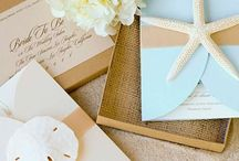 {Wedding} Beach Theme / Ideas for a Lilly inspired wedding with a beach (with mainly a blue color scheme) theme!