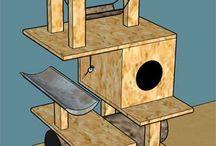 cat trees / cat tree and cat condo ideas