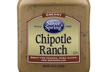 Chipotle Ranch / Addictively creamy and smoky with a zesty ranch flavor, our new Chipotle Ranch will be a great addition to a variety of your favorite foods. #SilverSpringFoods #ChipotleRanch #GIVEITZING™ / by Silver Spring Foods, Inc.