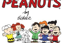 Charlie Brown, Snoopy and the Gang / Charles Schultz Characters and comic strip / by Peggy Thompson