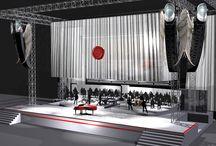 Renato Zero - AMO TOUR 2013/14 - set design Cromantica