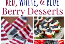 4th of July Fun / Festive recipes to celebrate Independence Day!