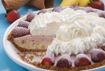 strawberry & banana pie