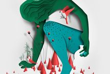 Papercut Illustrations