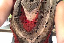 : Scarfs crochet :