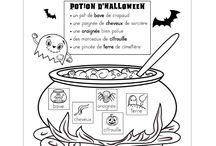 Halloween préscolaire