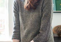 trapeze sweater